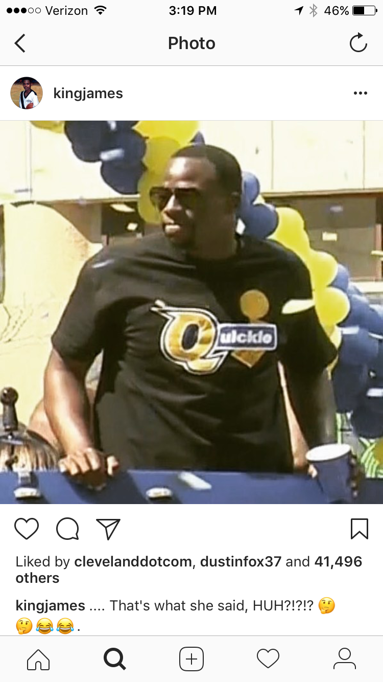 635b812afdf2 click to enlarge lebronresponse.png. Tags: Warriors trolling, Draymond Green  ...