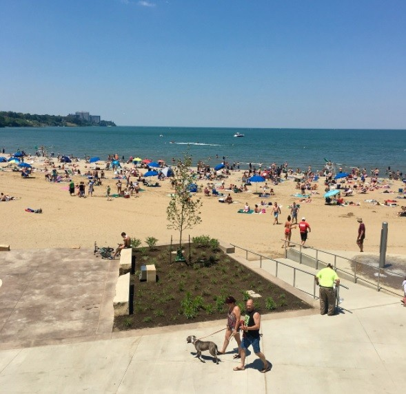 how to know when it s safe to swim in lake erie scene and heard