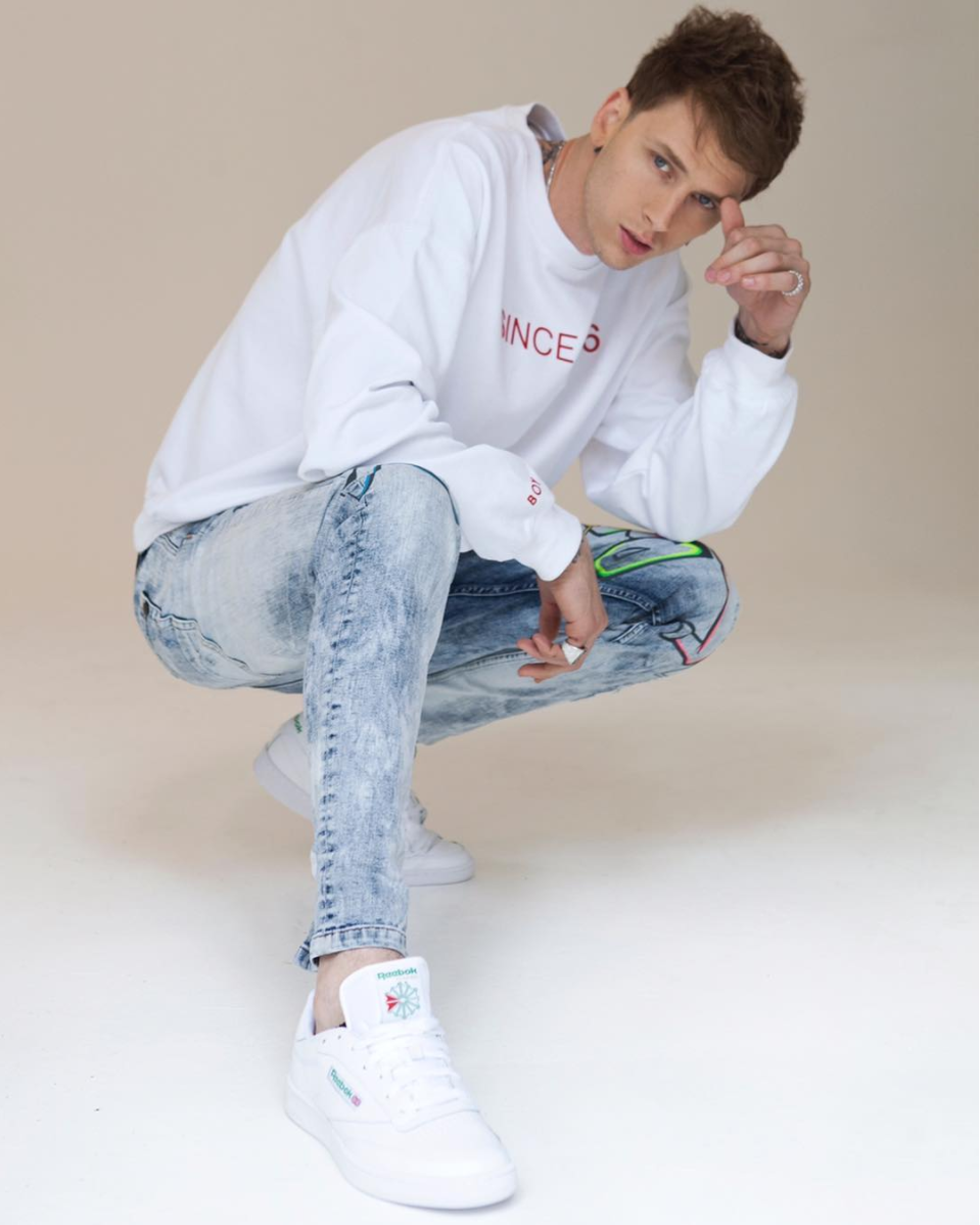 cleveland s own machine gun kelly is reebok s new global ambassador