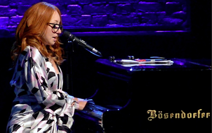 Tori Amos performing at Cain Park in 2014. - JOE KLEON