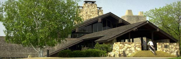 The Salt Fork State Park lodge. - PHOTO VIA OHIO STATE PARKS