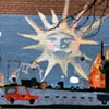The mural at Cudell Recreation Center