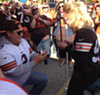 VIDEO: Cleveland Browns Fans Get Engaged in the Muni Lot on Sunday (2)