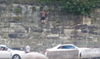 Finally — Here's the Full Video of the Drunk Browns Fan Scaling the Wall at the Pit and Then Falling