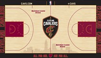 Cavs Unveil New Court Design for 2017-2018 Season