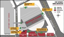Quicken Loans Arena Construction to Begin in February, Huron Down to Two Lanes