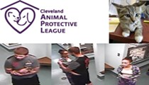 Help Identify Two Jerks That Stole a Kitten in Critical Need of Medication From the Cleveland APL