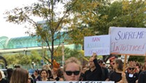 Signs to Remember from the Cleveland Protests Against Kavanaugh's Confirmation This Weekend