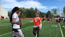 Snoop Dogg Takes Over Cleveland, Browns Practice, But Hue Jackson Isn't Totally Pleased