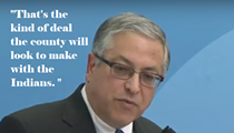 Budish: If Indians Ask for Big Bucks as Condition of Lease Extension, We Should Aim for Arrangement as Sweet as Q Deal