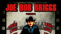 Movie Critic Joe Bob Briggs to Speak at the Capitol Theatre in October