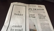 Welcome to the 'Bolder, Easier to Read, More Useful' Plain Dealer
