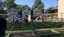 Cleveland Heights Residents Come Together to Rebuild Community Garden Damaged by Vandals
