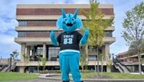 Here's Stomp, Tri-C's New Triceratops Mascot