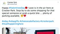 Crocker Park Invites You to Celebrate Valentine's Day at the Cheesecake Factory, Which Has Plenty of Parking