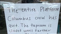 Platform Beer's Entire Columbus Taproom Staff Quits Citing Safety Concerns