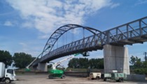 Wendy Park Bridge, Connecting Near West Side to Whiskey Island, is Now Open