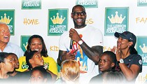 It's Yet to Be Seen if LeBron Will Raise a Banner in Cleveland, But He's Already Delivering a Winner to Akron Kids