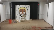 Cleveland Teen Live-Paints LeBron James Mural