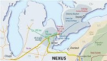 "Off-Duty Lorain County Officers ""Keep the Peace"" for NEXUS Pipeline Surveyors, Grafton Township"