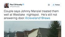 Channel 19 Is Still Staking Out Johnny Manziel's House for Some Reason (Day 3)