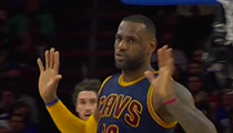 LeBron's 23 Point Second Half Guides Cavs Past Pesky Sixers
