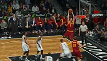 Love in the Air As Cavaliers Trim the Nets