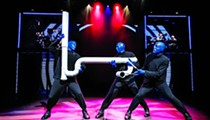 Blue Man Group Begins Playhouse Square Stand with a Bang