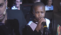 "Video: ""LeBron James Kid"" Does Team Introductions for Cavs vs. Kings Game Last Night"
