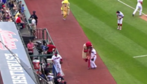 Video: Jason Kipnis Takes Out Ketchup