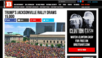 Right-wing Media Outlet Breitbart Thought Cavs Parade Crowd Was a Trump Rally