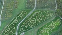 Walk Through This Cavs-Inspired Corn Maze at Mapleside Farms in Two Weeks