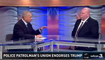 Video: Russ Mitchell Grills Steve Loomis on Police Union's Trump Endorsement