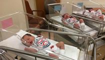 Newborn Babies at Fairview Hospital Will Get World Series Onesies