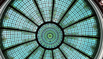 The Stunning Glass Ceiling at Heinen's (Cleveland Trust Rotunda Building) Wasn't Designed By Who You Probably Thought