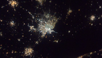 Here's Cleveland at Night as Seen From the International Space Station