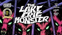 "The Latest Installment of ""The Lake Erie Monster"" Comic Debuts This Weekend"