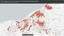 AT&T Has Historically Excluded Cleveland's Poorest Neighborhoods From Its Internet Access Improvements