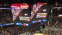Sporting Event App Recognizes Cavs and Indians Fans on the 'Big Screen'