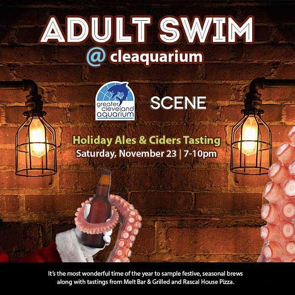 Win a pair of tickets to the Holiday Ales & Ciders tasting at the Greater Cleveland Aquarium