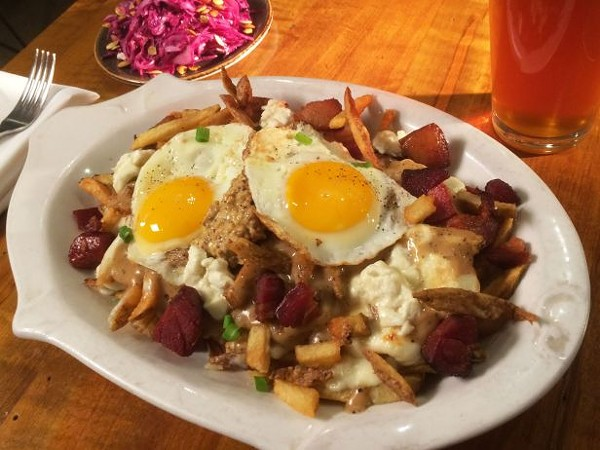 The greenhouse tavern 39 s animal style frites named best bar for Food bar consult