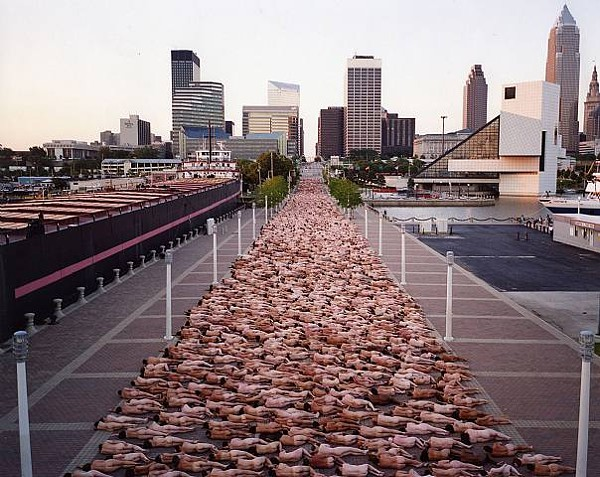 Spencer Tunick Will Photograph Group Of 100 Nude Women In -6987