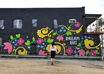 Cleveland's Lisa Quine Chosen as Rouen, France, Sister City Mural Exchange Artist
