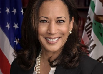 Picket Line Off, Kamala Harris On, at Cuyahoga County Democratic Party Annual Dinner
