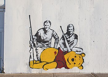 A Stencil Artist's Works are Conspicuous on the Near West Side. How Does Cleveland Feel About Them?
