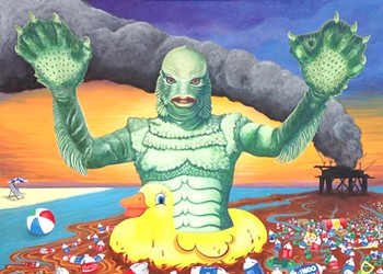 Monsters, Meaning and Marriage: Laura and Gary Dumm Tackle Environmental Issues Through Art