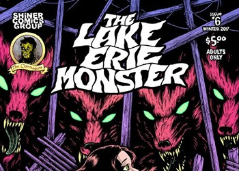 """The Latest Installment of """"The Lake Erie Monster"""" Comic Debuts This Weekend"""