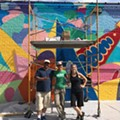 A Cleveland and Chicago Artist Studio Swap Brings a New Mural to Gordon Square