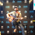Country Singer-Songwriter Riley Green Delivers Intimate Pop-Up Performance at WGAR