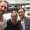 Guster's Frontman Explored Cleveland Yesterday With Random Fans